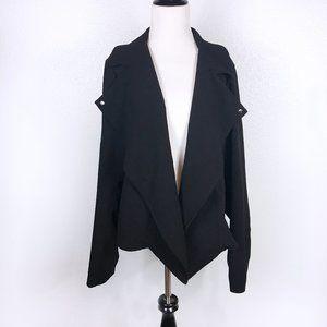 Torrid Black Open Front Blazer Jacket Size 1X